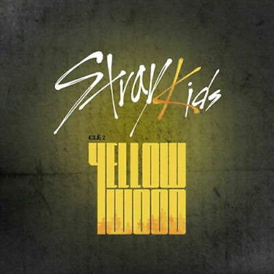 STRAY KIDS CLE 2:YELLOW WOOD Album NORMAL RANDOM CD+Buch+S.Page+3p Karte+SEALED