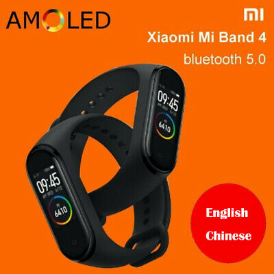 NEW XIAOMI MI BAND 4 bluetooth5.0 AMOLED SMART OROLOGIO SPORT FITNESS WATCH