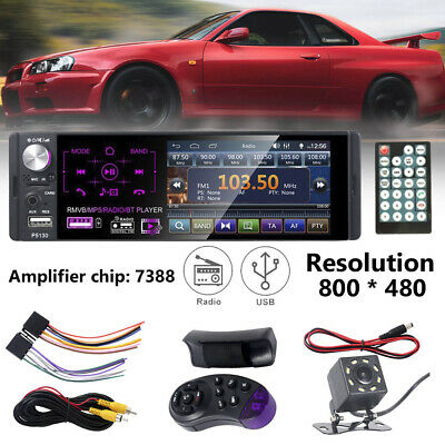 "4.1"" inch Single 1 DIN Car MP5 Player Bluetooth Touch Screen Stereo Radio+Camera"
