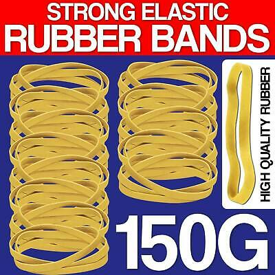 150g Strong Elastic Rubber Bands for Home School Office