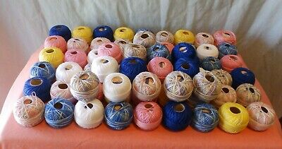 Lilly Embroidery Thread New And Hardly Used  Lot Of 67