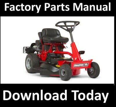 snapper rear engine riding mowers parts manual 2811x5s 3011x5s 3311x5s  33115sc