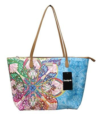 DESIGUAL BOLS MEXICAN CARD CAPRI ZIPPER Sac  cabas 19SAXPDO coloris 5029