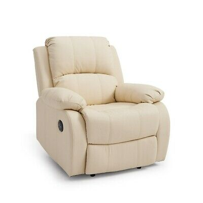 PU Leather Electric Recliner Sofa Chair Armchair Luxury Cinema Seater Lounge