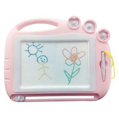 Magnetic Drawing Board Travel Size,Erasable Doodle Sketching Light Pink