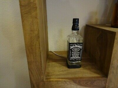 Jack Daniels Lampe  Recycling Stehlampe Vintage Tischleuchte