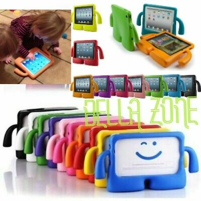Safe Shockproof Kids Handle Foam Case Cover Stand For iPad 2 3 4 Mini & Air SALE