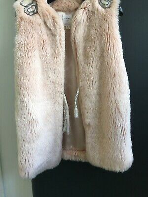 Carrement Beau Girls Gillet/Wasitcoat Age 4 Years