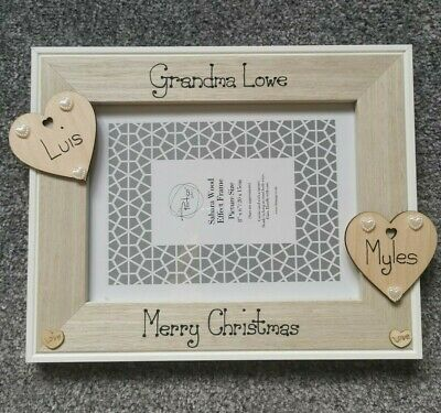 Personalised HQ Box Frame Print Mother of the Bride Gift  Birthday Diamantes W20