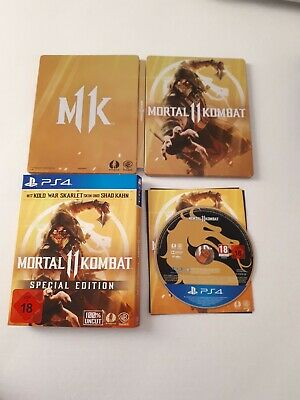 Mortal Kombat 11 Special Edition Steelbook PS4 ohne DLC