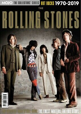 The Rolling Stones Hot Rocks 1970 - 2019 Mojo Magazine Collectors Series...new
