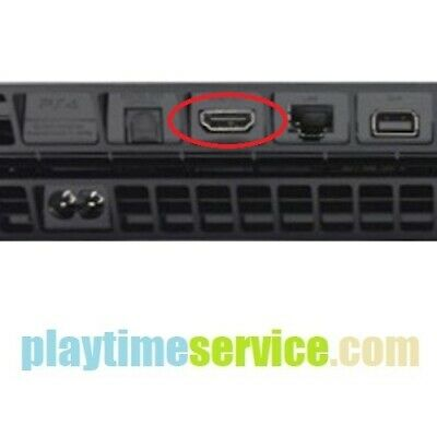 Sony PlayStation 4 PS4 HDMI Port Connector Replacement Service (CUH-1215A)