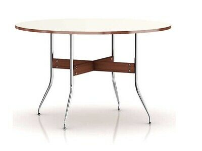 George Nelson Swag Leg Round Dining Table- Designed For Herman Miller