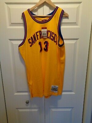 reputable site abf59 391ed WILT CHAMBERLAIN SAN Francisco Warriors Hardwood Classics ...