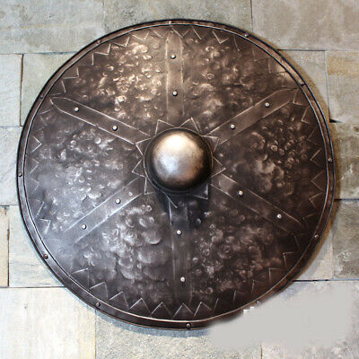D5 Europe Battle Medieval Shield Antique Knight Armour Wall Home Decor Full Size