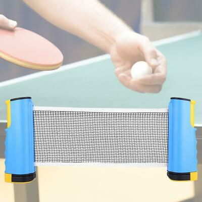 Outdoor Indoor Portable Ping Pong Net Retractable Folding Table Tennis Net Solid