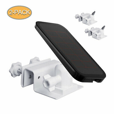Holaca Gutter Mount for Arlo Ultra Reolink argus 2-Compatible Solar Panels 2pack