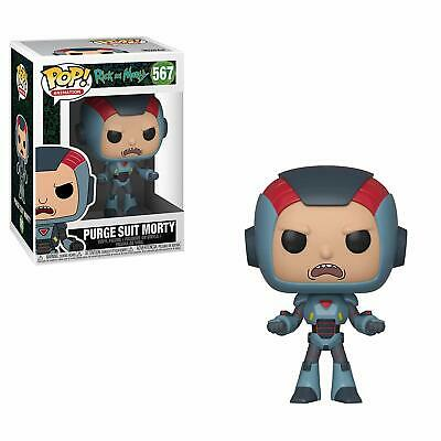 Funko Pop! Animation: Rick & Morty - Purge Suit Morty 567 40247 In stock