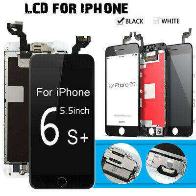 OEM iPhone 6G 6 6S Plus Touch Screen LCD Display Digitizer Home Button+Camera