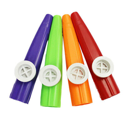 Fashion Plastic Kazoo Harmonica Mouth Flute Kids Party Gift Musical Instrument