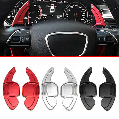 For Audi A4 B8 A5 S5 Q7 Steering Wheel Aluminum Shift Paddle Shifter Extension
