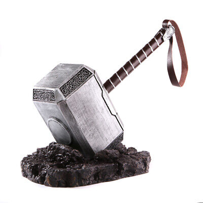 1:1 THE Avengers Full Solid Thor Hammer  Replica Cosplay Prop Mjolnir 6