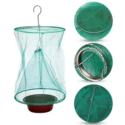 Folding Mosquito Capture Catching Fly Mesh Net Hanging Trap Insect Bug UK