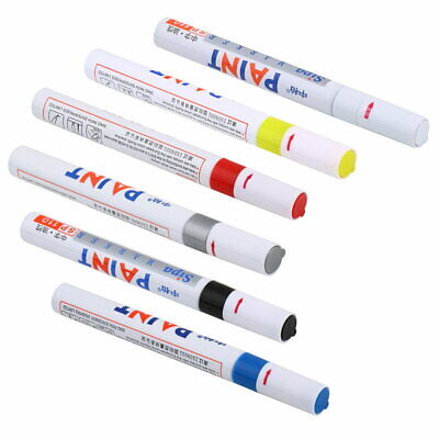 Universal Rubber Paint Marker Pen Permanent Car Motorcycle Tyre Tread OM