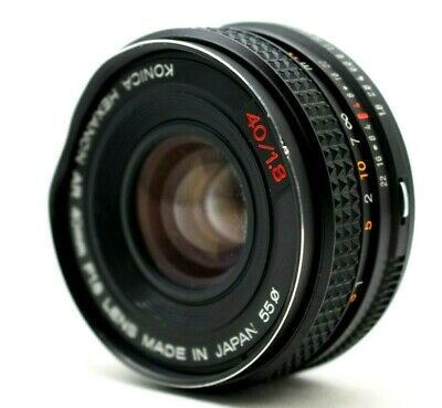 Konica Hexanon AR 40mm f/1.8 AR Lens *As Is* For Konica #TL001