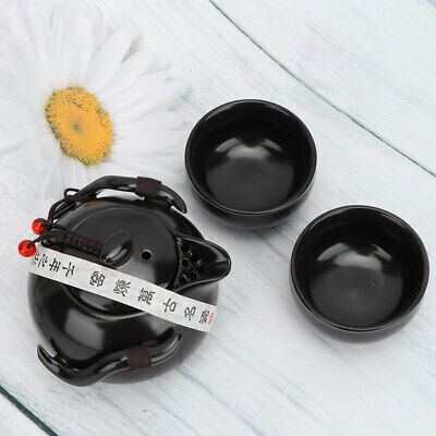 A Set of Portable Chinese Traditional Style Kung Fu Tea Porcelain Teapot Cup Kit