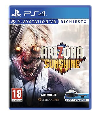 Sony Arizona Sunshine videogioco Basic PlayStation 4 Inglese, ITA Arizona Sunshi