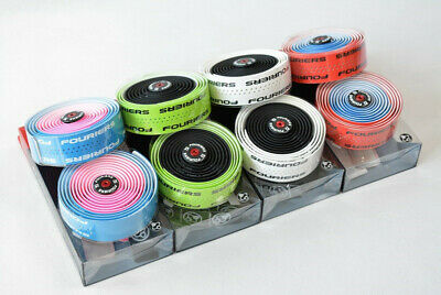 Fouriers Chameleon Bar Tape PU Road Bike Drop Handlebar Grip Racing Wraps 3mm