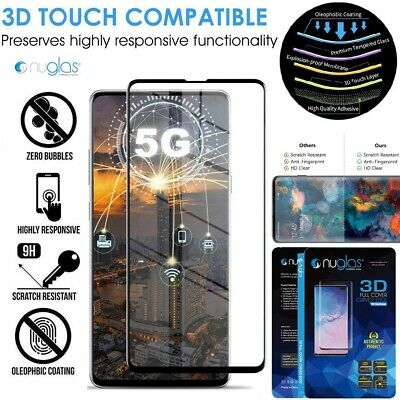 Galaxy Note 10 S10 5G S9 S8 Plus NUGLAS Tempered Glass Screen Protector Samsung