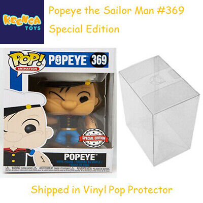 Funko Pop Animation #369 Popeye Specialty Series Vinyl Figure MIB with Protector