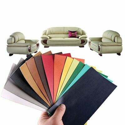 Self Adhesive Leather Patch Repair Stickers 10x20cm For Car Seat Bed Sofa Craft
