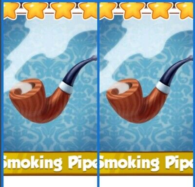 Coin Master Cards  2 x Smoking  Pipes ( Fastest Delivery)