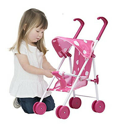 New Baby Doll Foldable Stroller For Up To 40cm Dolls