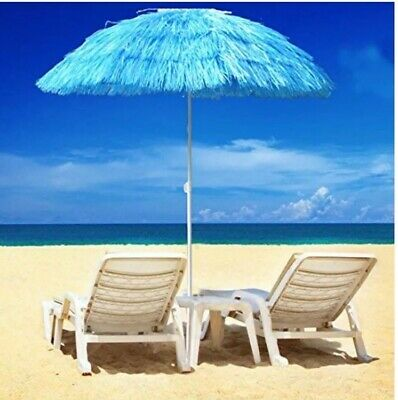 Sunshade Parasol 160 cm Diameter Large Inclinable Sun Umbrella with Tilt Function Red