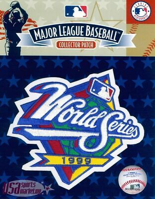 1999 World Series New York Yankees Official Game MLB Sleeve Jersey Logo Patch