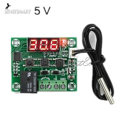 Red LED DC 5V W1209 Thermostat Temperature Switch Thermometer Controller Probe