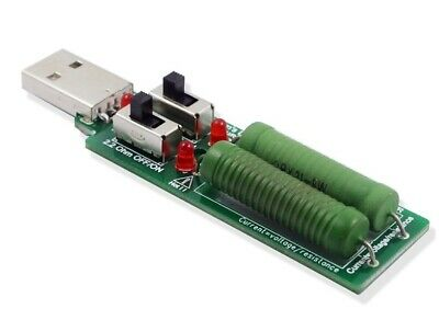 Dummy USB Load 1 - 2 - 3 Amps   .....   Economy Delivery