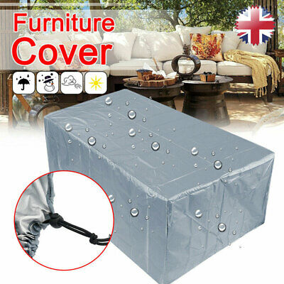 Large Heavy Duty Waterproof Rattan Cube Cover Outdoor Garden Furniture 5 Size UK