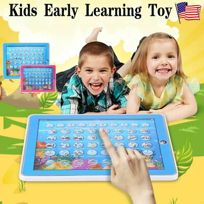 Mini Baby Kids Tablet Pad Child Educational Game Toy Bilingual Learning