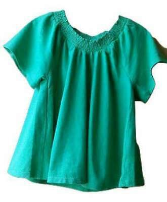 Next Girls' Green Smock Top Age 3-4 Years Bnwt