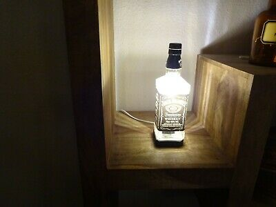 Jack Daniels Lampe  Recycling Stehlampe Tischleuchte