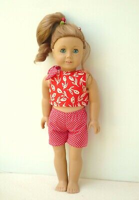 American Girl Our Generation Cute Summer Top Shorts 18 Inch Doll Clothes