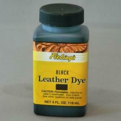 Fiebings Leather Dye - 4 oz bottle, Assorted Colors With Applicator