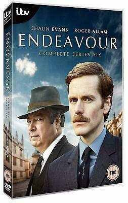 Endeavour Season 6 DVD Box Set Complete Sixth TV Series Collection New 2019