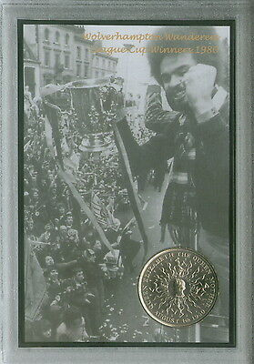 Wolverhampton Wanderers (The Wolves) League Cup Final Winners Coin Gift Set 1980