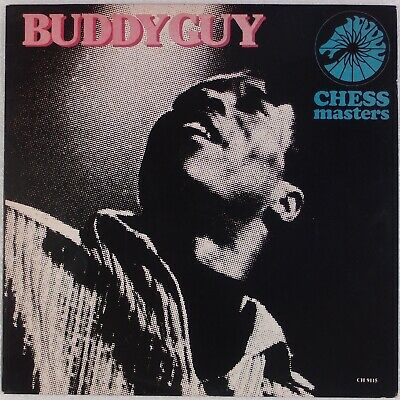 BUDDY GUY: Chess Masters US Broken Hearted Blues '84 Vinyl LP NM